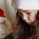 Reading to Santa